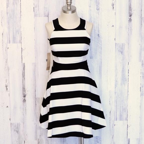 RACHEL Rachel Roy Dresses & Skirts - RACHEL Rachel Roy Striped Open Back Dress 2